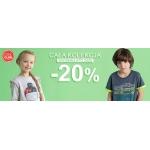 Smyk: 20% rabatu na całą dziecięcą kolekcję wiosna/lato