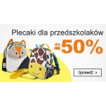 Smyk: do 50% rabatu na plecaki dla przedszkolaków