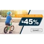 Smyk: do 45% rabatu na rowerki, hulajnogi i wrotki