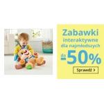 Smyk: do 50% zniżki na zabawki interaktywne dla najmłodszych