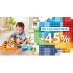 Smyk: do 45% zniżki na klocki dla dzieci