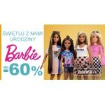 Smyk: do 60% rabatu na lalki Barbie i akcesoria