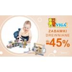 Smyk: do 45% zniżki na zabawki drewniane Viga Toys