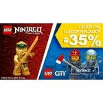 Smyk: do 35% zniżki na klocki Lego City i Ninjago
