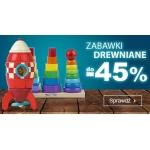 Smyk: do 45% zniżki na zabawki drewniane