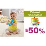 Smyk: do 50% zniżki na zabawki niemowlęce