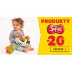 Smyk: 20% zniżki na zabawki, gry, akcesoria dla dzieci i niemowląt marki Smiki