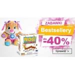Smyk: do 40% zniżki na bestsellery zabawek