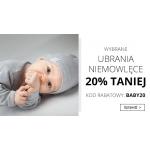 Smyk: 20% rabatu na wybrane ubrania niemowlęce