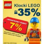 Smyk: do 35% zniżki na klocki lego