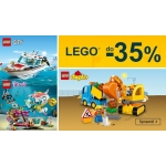 Smyk: do 35% rabatu na zabawki Lego City, Duplo i Friends