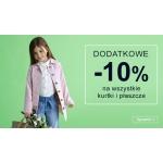 Smyk: dodatkowe 10% rabatu na wszystkie kurtki i płaszcze dziecięce