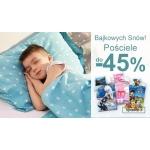 Smyk: do 45% rabatu na pościele dziecięce