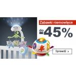 Smyk: do 45% zniżki na zabawki niemowlęce