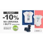 Smyk: 10% rabatu na ubrania i buty oznaczone Tylko Online