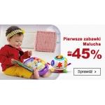 Smyk: do 45% zniżki na pierwsze zabawki Malucha