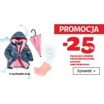 Smyk: 25% zniżki na płaszcze i spodnie przeciwdeszczowe, kalosze oraz na parasolki