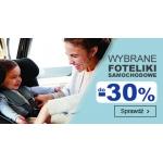 Smyk: do 30% zniżki na wybrane foteliki samochodowe