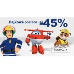 Smyk: do 45% rabatu na zabawki z bajek