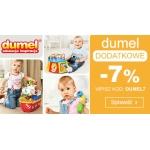 Smyk: dodatkowe 7% rabatu na zabawki Dumel