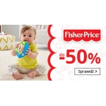 Smyk: do 50% rabatu na zabawki Fisher Price