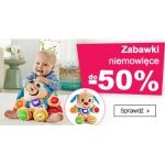 Smyk: do 50% rabatu na zabawki niemowlęce