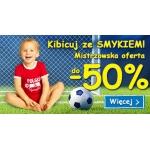 Smyk: do 50% zniżki z okazji Euro 2016