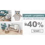 Smyk: do 40% zniżki na lampki i projektory do pokoju dziecięcego