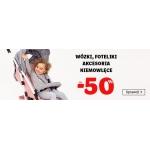 Smyk: do 50% rabatu na wózki, foteliki i akcesoria niemowlęce