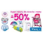 Smyk: promocja do 50% zniżki na produkty dla dziecka i mamy