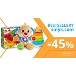 Smyk: do 45% zniżki na bestsellery zabawek