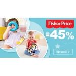 Smyk: do 45% zniżki na zabawki Fisher Price