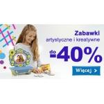 Smyk: do 40% zniżki na zabawki artystyczne i kreatywne