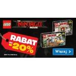 Smyk: do 20% rabatu na klocki Lego Ninjago