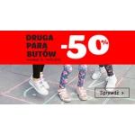 Smyk: 50% zniżki na drugą tańszą parę butów dziecięcych