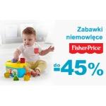 Smyk: do 45% rabatu na zabawki niemowlęce Fisher Price