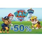 Smyk: do 50% zniżki na odzież i zabawki dziecięce z kolekcji Psi Patrol