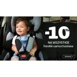 Smyk: 10% rabatu na wszystkie foteliki samochodowe