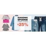 Smyk: 25% rabatu na wybrane spodnie i sukienki z nowej kolekcji