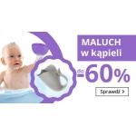 Smyk: do 60% rabatu na akcesoria do kąpieli dla dzieci i niemowląt
