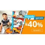 Smyk: do 40% zniżki na pojazdy i garaże dla dzieci