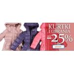 Smyk: do 25% zniżki na kurtki i ubrania