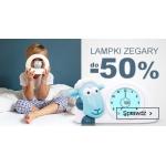 Smyk: do 50% zniżki na lampki zegary