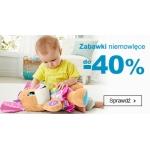 Smyk: do 40% rabatu na zabawki niemowlęce