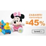 Smyk: do 45% rabatu na zabawki niemowlęce