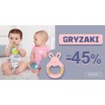 Smyk: do 45% zniżki na gryzaki dla dzieci i niemowląt