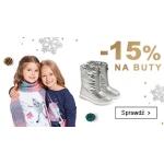 Smyk: 15% rabatu na buty dla dziewczynek i chłopców