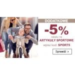 Smyk: dodatkowe 5% zniżki na wybrane artykuły sportowe