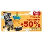 Smyk: do 50% zniżki na produkty marki Smiki