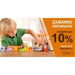 Smyk: dodatkowe 10% rabatu na zabawki drewniane